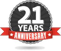 21 Year Anniversary